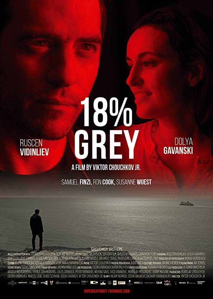18 % Grey poster